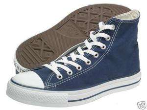 CONVERSE ALL STAR HI NAVY MENS US SIZE 7.5, WOMENS 9.5