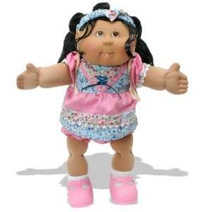 Cabbage Patch Corn Silk Kids: Girl in Pink Dress: Toys