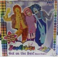THE DOODLEBOPS GET ON THE BUS Board Game NEW