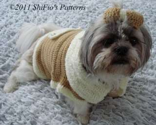 COAT CROCHET DOG PATTERN « CROCHET PATTERNS