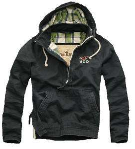 NWT HOllister Mens Breakwall Hoodie Jacket outwear XL