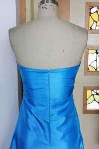 Elegant Taffeta Formal Gown Prom Bridesmaids Dress