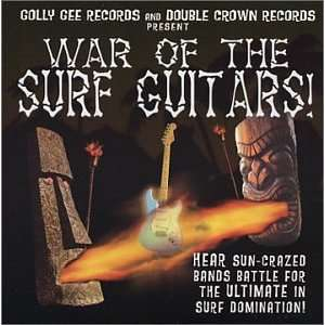 War of The Surf Guitars: Various Artists: Music