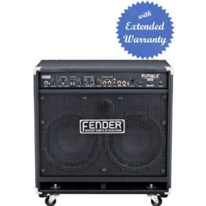 2x10 Inch Bass Combo Amp with Gear Guardian Extended Warranty   Black