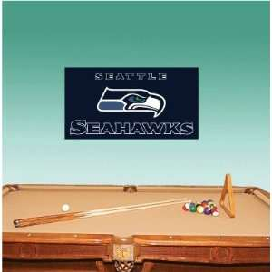Seattle Seahawks Football Wall Decal 25 x 10 Everything