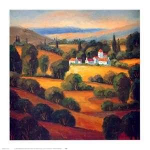 Landscape Ii   Poster by Tomasino Napolitano (15 x 15): Home & Kitchen