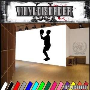 Basketball Freethrow Ball Bball Sport Sports Vinyl Decal