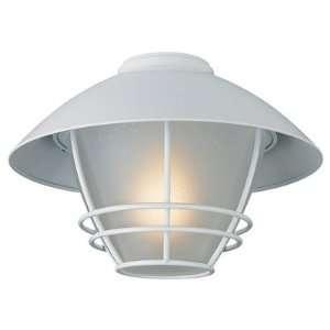 Monte Carlo Fan Company MC151WH L One Light Cape Cod Light