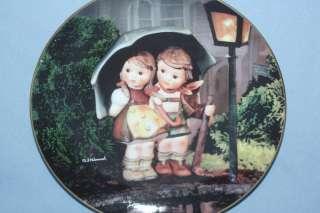 Danbury Mint Hummel Plate   Stormy Weather