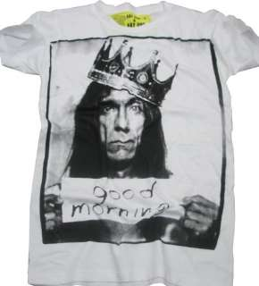 IGGY POP Rock Good Morning  Unisex tee Shirt S M L