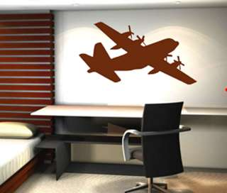 130 Military Army Airplane Wall Sticker Vinyl Decal 4