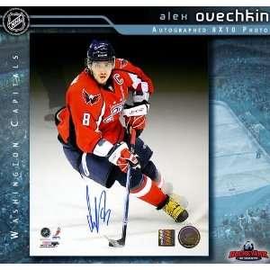 Alexander Ovechkin Washington Capitals 8 x 10 Autographed