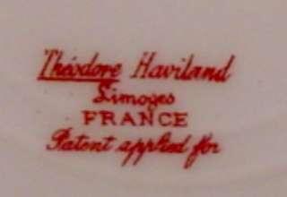 Haviland Limoges 8 Pink Rose Cascades Salad Plate 1904   1920s