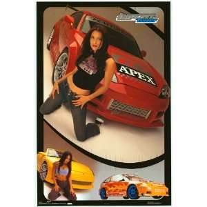 Import Tuner   Apex girl   College Poster   22 x 34: Home