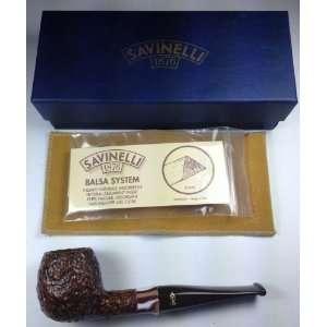 Savinelli Carmella Rustic 207 Tobacco Pipe Everything