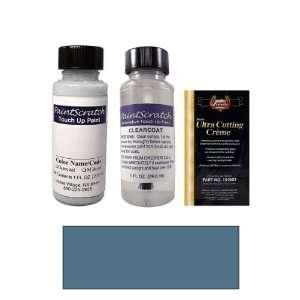 1 Oz. Medium Steel Blue Metallic Paint Bottle Kit for 2000