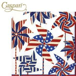 Caspari Paper Napkins 10500C Pinwheels Cocktail Napkins