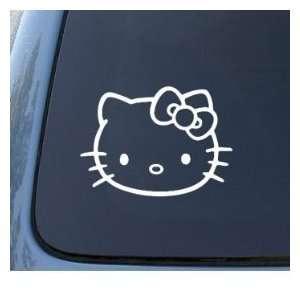 HELLO KITTY   Cat Feline   Car, Truck, Notebook, Vinyl Decal Sticker