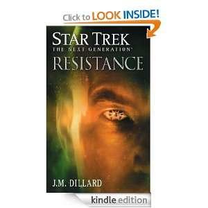Star Trek The Next Generation Resistance J.M. Dillard