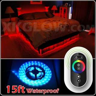Wireless Control Furniture Car Boat Decorative Neon Light Strip Kit