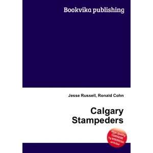 Calgary Stampeders Ronald Cohn Jesse Russell Books