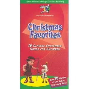 Christmas Favorites [VHS] Cedarmont Kids Movies & TV