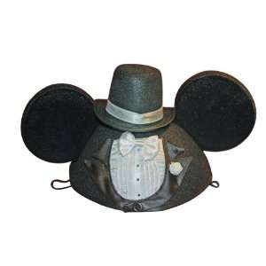Disney Mickey Mouse Ears Groom Hat With Tail Toys & Games