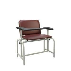 Extra Large Blood Drawing Chair Padded Vinyl Seat Health