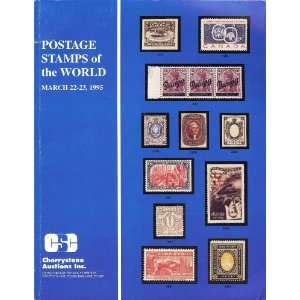 (Stamp Auction Catalog) (Cherrystone March 1995) Cherrystone Books