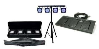 CHAUVET 4BAR 4 BAR DMX LED Stage Wash Light System