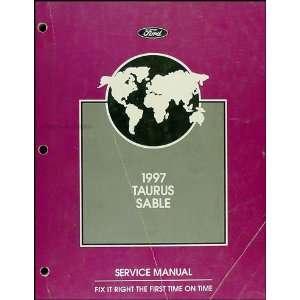 1997 Ford Taurus & Mercury Sable Repair Shop Manual