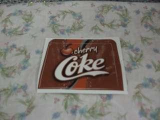 Coca Cola Cherry, Cherry Coke, Sticker, Cool & Very Rare