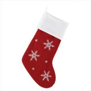 Snowflake Pattern Stocking