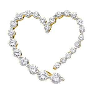 Genuine Icecarats Designer Jewelry Gift 14K Yellow Gold 0.50Ctw Round