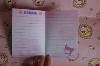 2012 Sanrio Kuromi Mini Datebook Diary Book Schedule Planner