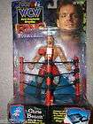 Toy Biz WCW Ring Fighters Chris Benoit action figure wwe 1999