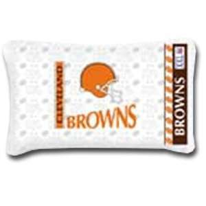2 NFL Cleveland Browns Logo Pillowcases: Sports & Outdoors