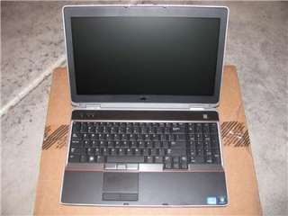 Dell Latitude E6520 LAPTOP i7 2760QM 2.4G 500GB 512MB NVIDIA 4200M 9