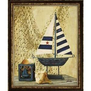 VC7219A Boat Still Life I by Unknown Size 30 x 40 Home & Kitchen
