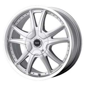 American Racing Albert 16x7 Silver Wheel / Rim 5x4.25 & 5x4.5 with a