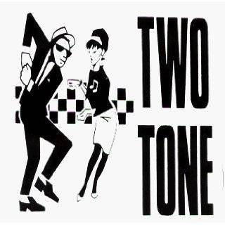 Rude Girl & Rude Boy with Ska Checkers   Sticker / Decal: Automotive