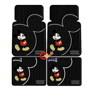 Mickey Mouse Car Seat Covers Auto Accessories Set  8PC
