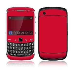 Simply Red Decorative Skin Cover Decal Sticker for BlackBerry Curve 3G