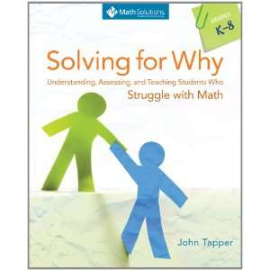 Math, Grades K 8 (9781935099338) John Tapper, Jamie Ann Cross Books