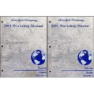 2001 Ford Taurus & Mercury Sable Repair Shop Manual 2