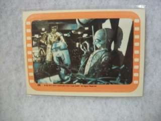 Vintage Star Wars Series 5 Sticker # 48 Droids in the Jawa Vehicle