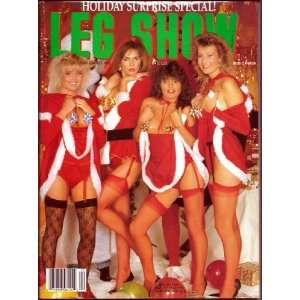 LEG SHOW 12/90 (DECEMBER 1990): LEG SHOW MAGAZINE: Books