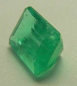 01 cts Natural Colombian Emerald Cut