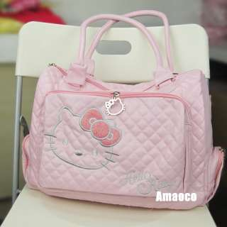New Womens Hellokitty Shoulder Hand Shopping Bag Soft Lady Gift Girl