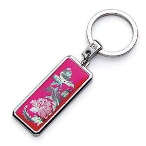 Mother of Pearl Pink Peony Flower Design Handmade Craft